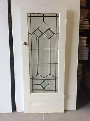 Leadlight  Internal Door