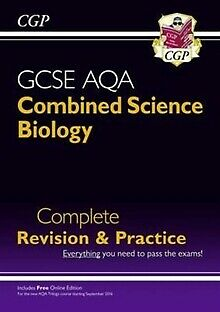 New Grade 9-1 GCSE Combined Science: Biology AQA Complete Revision & Practice...