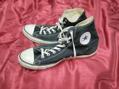 56687db89e55f0 VTG CONVERSE SHOES Chuck Taylor Sneakers High cuff Sz 12 80 s 90 s ...