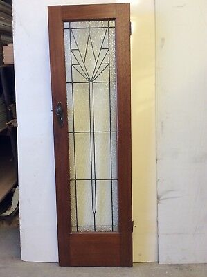 Leadlight  Art Deco Door
