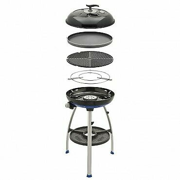 Cadac Carri Chef 2 Bbq Skottel Combo.Cadac Carri Chef 2 Bbq Chef Pan Combo Gas With Free Quick Release Gas Hose