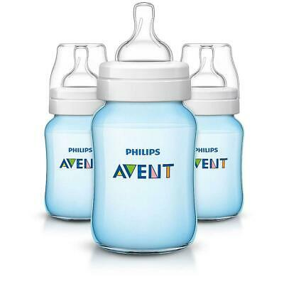 Philips Avent Anti-colic bottle 9oz, 3 Pack  Blue