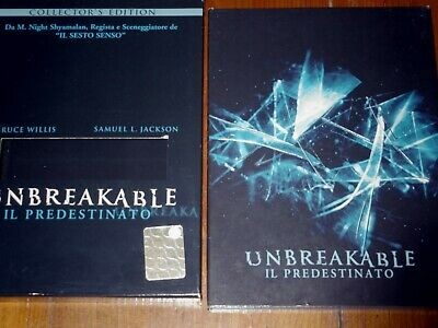 Unbreakable Il Predestinato Collector's Edition  2 Dvd Come Nuovo Buena Vista