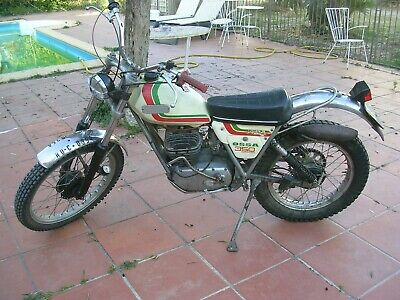 1976 Vintage Ossa Mar 350 Mick Andrews Moto Trial Bike. Working  Documentada