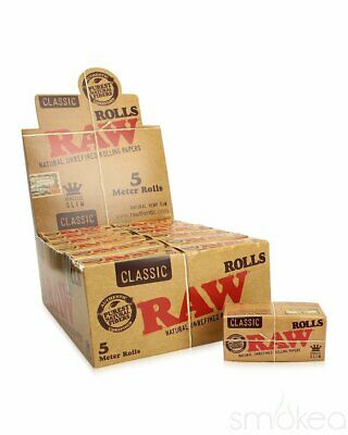 Raw Classic King Size Slim Roll Single Pack