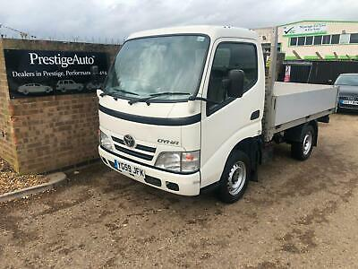 2009 59 Toyota Dyna 3.0 D-4D 300 SWB DROPSIDE PICK UP FLAT BED LORRY TRUCK 125K