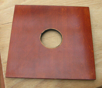 Wista 810 140mm wooden Lens board panel for copal 0 35mm