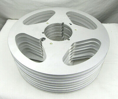 Scotch 10.5in x 1/4in Clean Empty Reels, Set of 8 - Used, Free Shipping