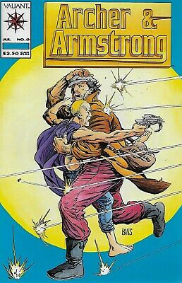 Archer & Armstrong No.0 / 1992 Jim Shooter & Barry Windsor-Smith