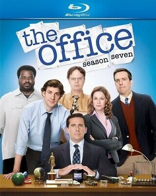 THE OFFICE SEASON SEVEN 7 New Sealed Blu-ray Steve Carell