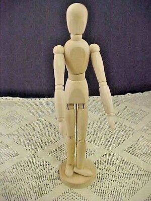 IKEA Gestalta Artist Wooden Model Poseable 13 Inches Tall Human Model W/Stand