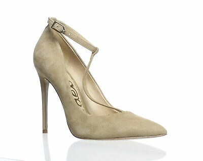 65a4d6aff Sam Edelman Womens Dorinda Oatmeal Suede T-Strap Heels Size 7.5 (181155)  More Amazing Brand Name Deals!!