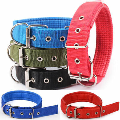 Practical Dog Collar Adjustable Neck Strap for Large Medium Small Pet Dog S-XXL