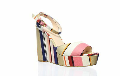 65256f6aa000 Kate Spade Womens Dellie Multi Color Ankle Strap Heels Size 6.5 (179903)