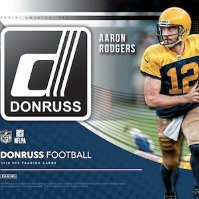2018 Donruss NFL Football Green Press Proof Parallel Card Pick From List 1-200