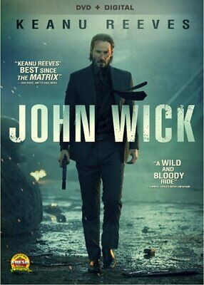 John Wick Digital David Leitch Keanu Reeves DVD [Action & Adventure] NEW