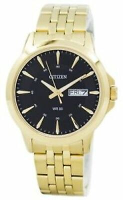 Citizen Men's Everyday Tone Stainless Steel Watch - Gold/Black
