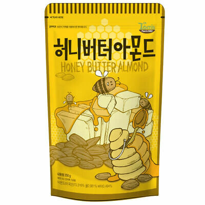 Toms Gilim Honey Butter Almond 250g (8.8 oz) korean Crunchy sanck