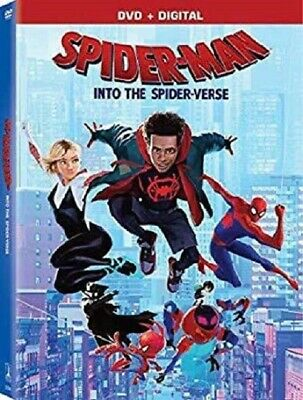 Spider-Man Into the Spider-Verse Spiderman Spider Verse New DVD + Digital