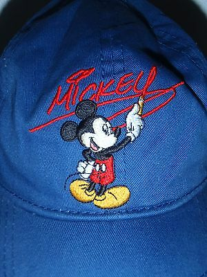 3f57fe03aed KID S WALT DISNEY World Blue Mickey Mouse Hat Size Youth -  13.99 ...