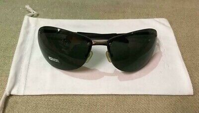 Diesel Sunglasses & Case New Najua Black 70 15 Men's Designer Holiday Sun Frame