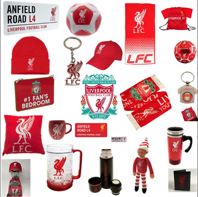 Liverpool Football Gift Mug Scarf Keyring Rug Champions Elf Lunch Bag Europe