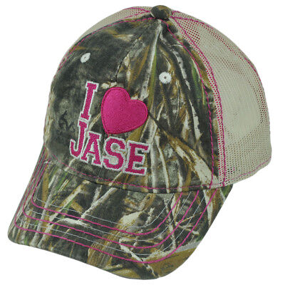 A e Realtree Duck Dynasty i Heart Jase da Donna Garment Wash Rete Show Tv  Cuffia 79abb047cce8