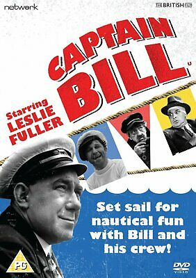 Captain Bill - Leslie Fuller (DVD) (New & Sealed)