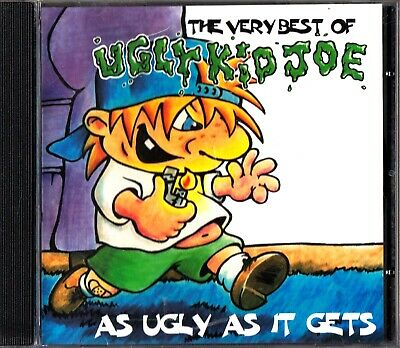 The Very Best Of UGLY KID JOE- As Ugly As It Gets- Greatest Hits CD 1998