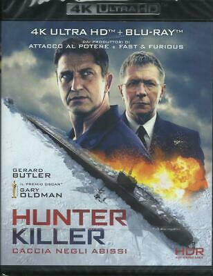 Hunter Killer. Jagd in Abgrund 4K Ultra HD (2018) 2 Blu-Ray