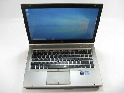 "HP EliteBook 8470p 14"" Laptop 2.9GHz Core i5 3rd Gen 500GB HDD 8GB Windows 10"