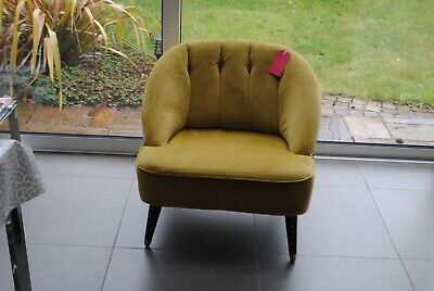 Pleasant New Made Com Margot Accent Chair Antique Gold Velvet Caraccident5 Cool Chair Designs And Ideas Caraccident5Info