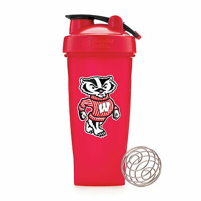 BlenderBottle Collegiate Shaker Bottle - Wisconsin
