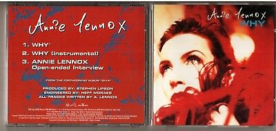 Annie Lennox Onen ended Interview Promo CD WHY DIVA very rare Canada KCDP-51079