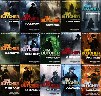 Dresden Files Complete Series (1-15) By Jim Butcher