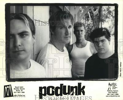1999 Press Photo Four members of the band Podunk - sap48571
