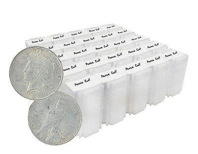 Silver Peace Dollar Cull Lot of 1,000 Mix Dates and Mint Marks 1922 to 1935