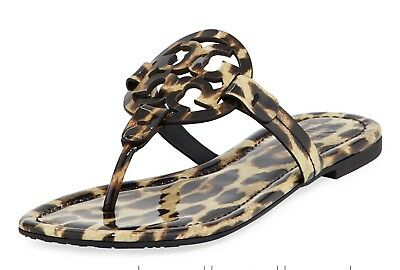 7b744a21347ffe NIB TORY BURCH MILLER IVORY MEADOW FOLLY THONG FLIP FLOP SANDAL Sz 5 ...