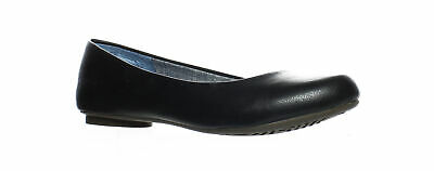 c9bbd2be2b31 Dr. Scholl's Womens Friendly 2 Black Smooth Ballet Flats Size 7.5 (73789)