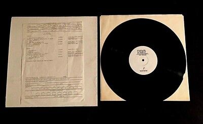 1979 L Shankar + Frank Zappa Touch Me There Prc Test Pressing Lp With Label Copy