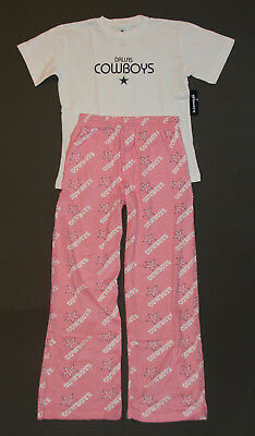365bd0485f NFL DALLAS COWBOYS Ladies Womens T Shirt Lounge Pants PJ Sleepwear Set M