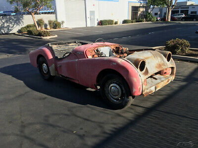 1959 Triumph TR3 1959 TRIUMPH TR3A. ROLLING PROJECT / BUILDER WITH CLEAR TITLE. 1959 TRIUMPH TR3A SPORTS ROADSTER. SIGNAL RED WITH BLACK TRIM. CLEAR TITLE.