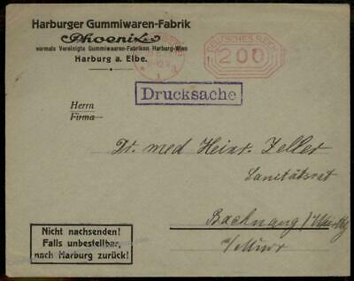 Germany 1923 August Inflation Meter Advertising Cover Last Day Rate 67214