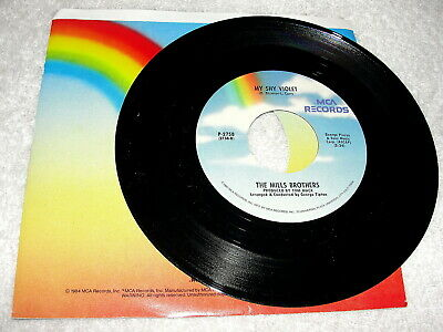 "Mills Brothers,The ""My Shy Violet / Cab Driver"" 45 RPM, 7"", 1960's Pop, Nice EX!"