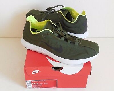 NIKE MAYFLY LITE SE 876188-300 Men s Running Shoes Legion Green Size ... bc0fc580b