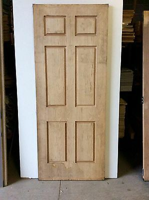 American Oak Six Panel Front Door