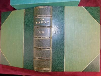 The SAVOY: all 8 ISSUES/88 PLATES/BEARDSLEY/SYMONS/BAYNTUN/RARE 1896 1st, $6000+