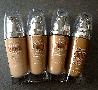 Loreal True Match Lumi Healthy Luminous Makeup Liquid Foundation Spf 20 Choose