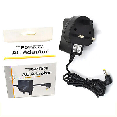 MAINS USB WALL CHARGER ADAPTER PLUG FOR SONY PSP 1000 2000 SLIM &Lite 3000 Y3C2P