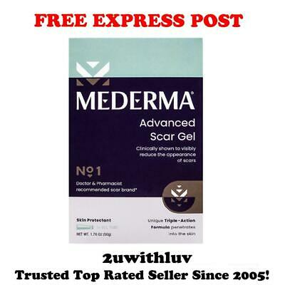 Mederma Advanced Scar Gel Cream Treatment For Old & New Scars 50G Free Express!!